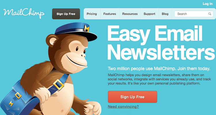 SETTING UP YOUR MAILCHIMP ACCOUNT