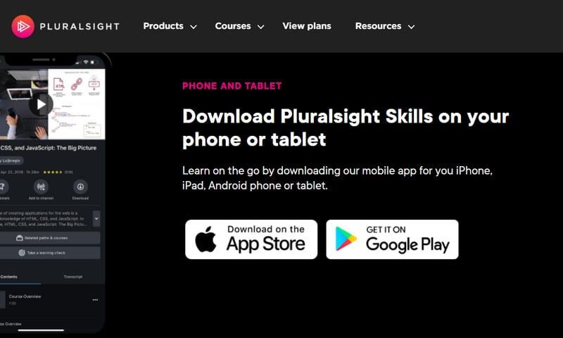pluralsight app