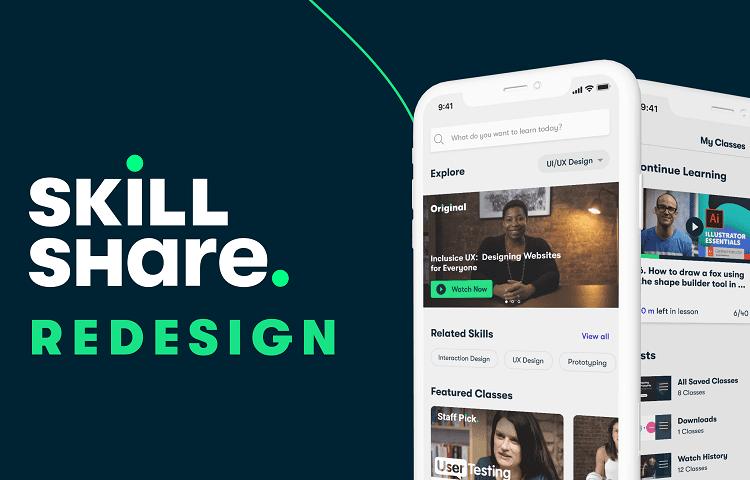 skillshare app