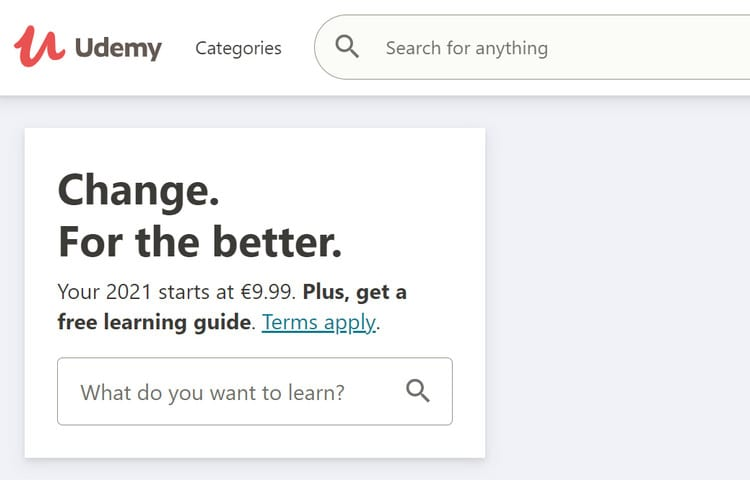 udemy courses pricing