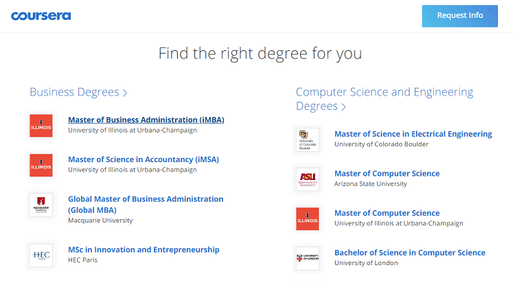 courses on coursera