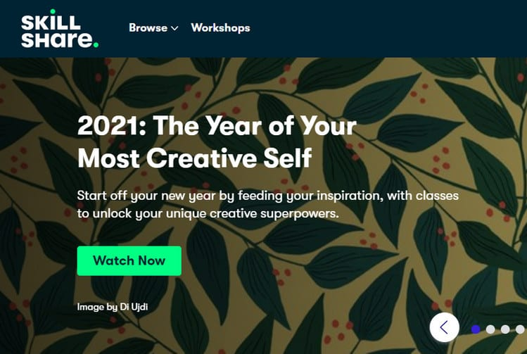 skillshare at 2021