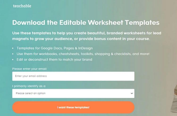 teachable templates