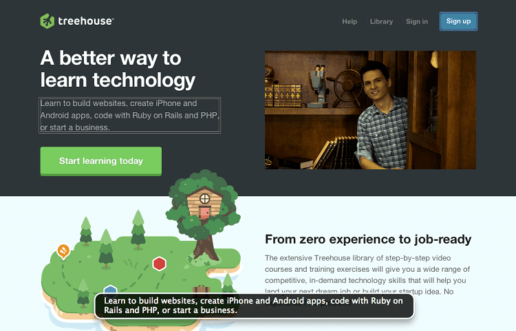 teamtreehouse way of learning