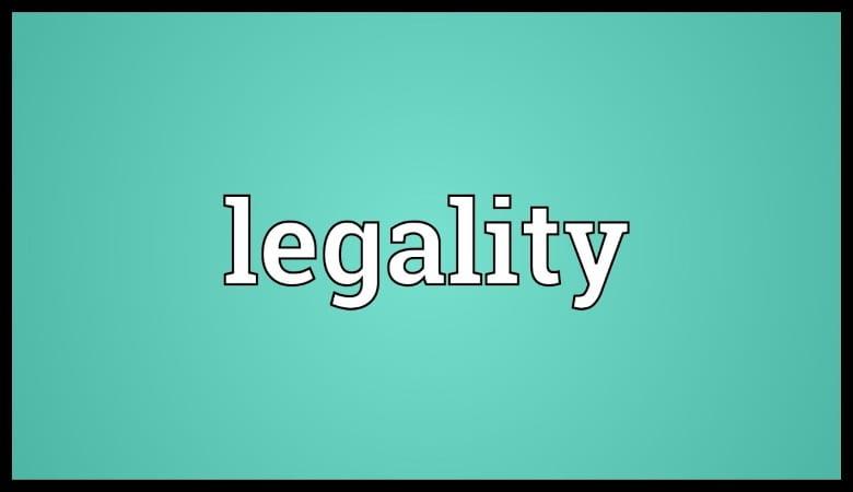 Legality