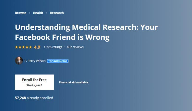 Understanding Medical Research - Your Facebook Friend is Wrong